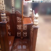 Jual Mimbar Masjid Ukiran Arab Kubah Di Kab Bogor