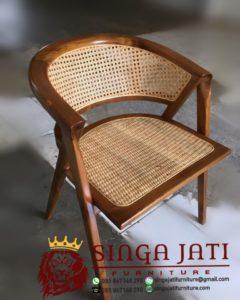 Jual Kursi Cafe Rotan Murah Minimalis Desain Terbaru