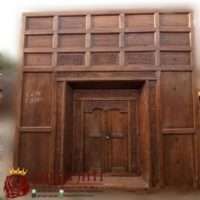Jual Pintu Gebyok Kuno Patangaring Ukir Minimalis Kayu Jati