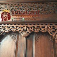 pintu gebyok Jawa klasik ukiran model minimalis modern