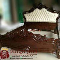 Jual Tempat Tidur Ukir Kayu Jati Ranjang Ukir Minimalis Modern
