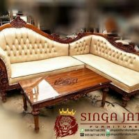Jual Sofa Sudut L Minimalis Mewah Harga Murah