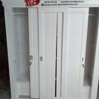 Model  Lemari Pakaian Pintu Geser Terbaru Desain Minimalis