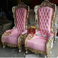 Kursi Sofa Sandaran Tinggi Mewah