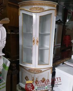 Lemari-Sudut-Jati