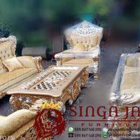Kursi Bellagio Kursi Tamu Mewah Jati Jepara