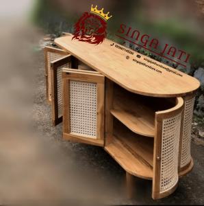 Bufet-Rotan-Jati