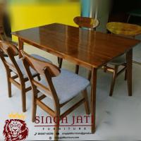 Meja Makan Jati Minimalis Modern Berkualitas Tinggi