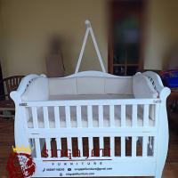 Jual Box Baby Minimalis kayu Jati Gratis Matras
