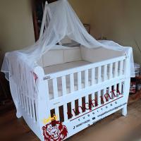 Jual Tempat Tidur Bayi Laci Dari Kayu Jati Jepara